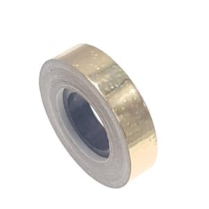 Pailletten tape goud 12.5mm