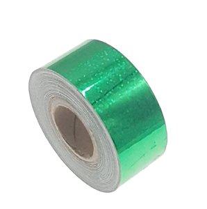 Pailletten tape groen 25mm