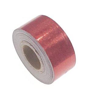 Pailletten tape rood 25mm