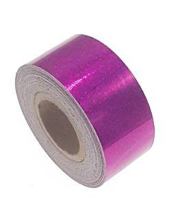 Pailletten tape fuchsia 25mm