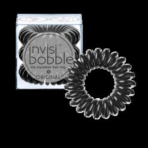 Invisibobble zwart haarelastiekjes