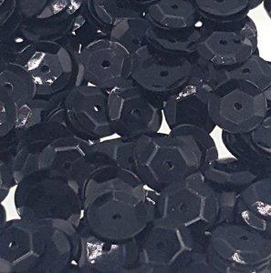 Pailletten 8mm zwart