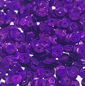 Laserpailletten 5mm paars