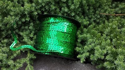 Laser Paillettenband groen