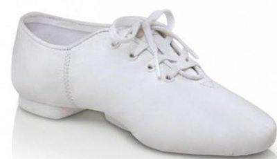 Capezio twirlschoenen wit