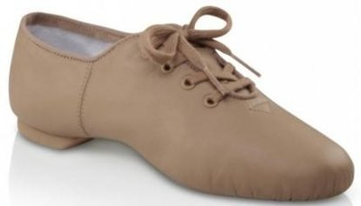 Capezio twirling shoes Tan
