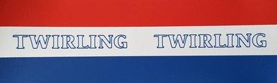 Sticker Twirling Nederland