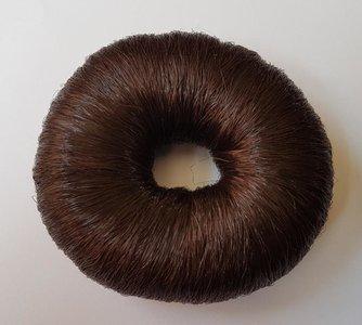 Donut kunsthaar Bruin
