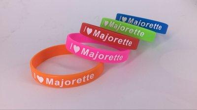 Bracelet en silicone I love Majorette