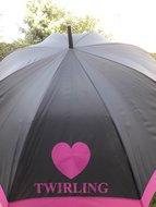 Paraplu Love Twirling