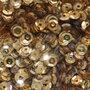 Pailletten 5mm goud