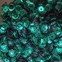Pailletten 5mm blauwgroen