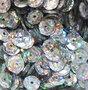 Laserpailletten 8mm zilver
