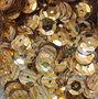 Pailletten 8mm goud op zilver